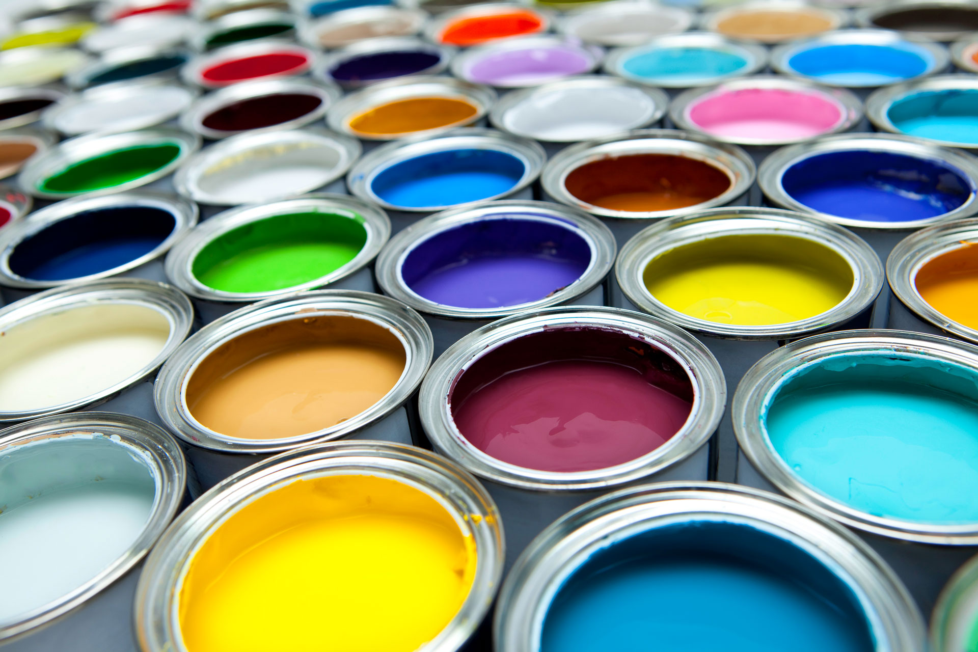 interior paint cans