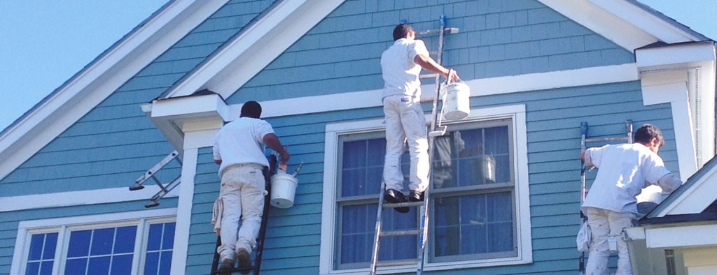 exterior house painters